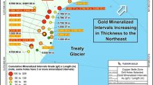 Tudor Gold Step-Out Hole Hits Large, Continuous Gold-Bearing System At Treaty Creek Property (0.981 g/t Gold over 563.8 meters in CB-18-39)