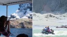 'Hard to believe': Tourist captures terrifying volcano eruption in New Zealand