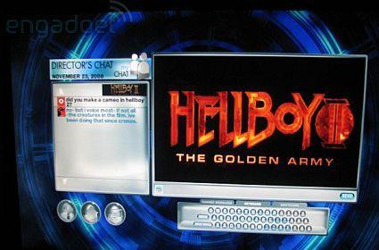 A recap of the Hellboy II BD-Live chat