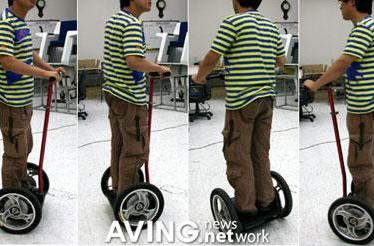 "KAIST shows off ""Hubo-Way"" Segway derivative"