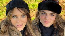 Elizabeth Hurley and Look-alike Son Damian, 17, Bear a Striking Resemblance in Christmas Selfie