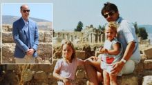 Prince William retraces steps of four-year-old Kate Middleton as he visits family photo spot at ancient site in Jordan