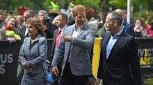 Prince Harry back at work following birth of son Archie