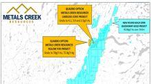 Metals Creek Options Careless Cove/Yellow Fox, Central Newfoundland to Quadro Resources