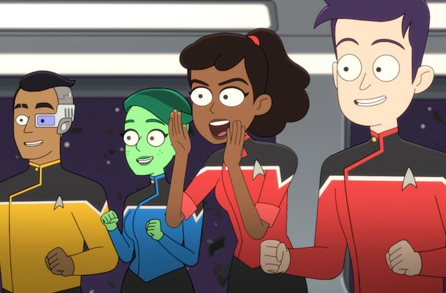 Star Trek animated comedy 'Lower Decks' heads to Blu-ray on May 18th