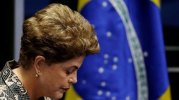 Brazil's Rousseff says democracy at stake in Senate trial