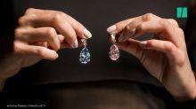 Diamond earrings sell for £44.4 million
