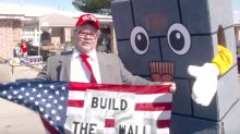 Trevor Noah Taunts Donald Trump Fans To Their Faces With 'Bricky The Border Wall' Mascot