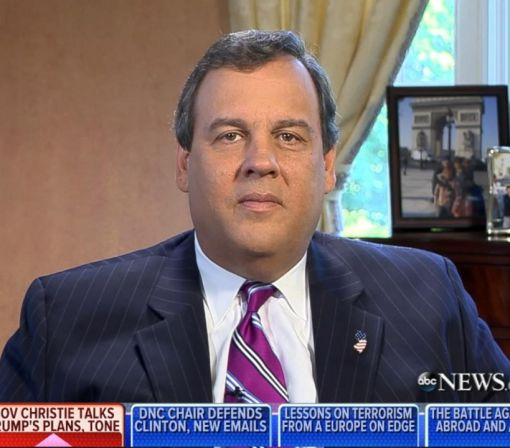 Christie Says Trump Has Been 'Completely Consistent' on Immigration