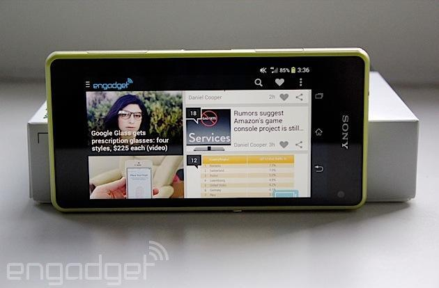 Sony's Xperia Z1 Compact finally comes to the US