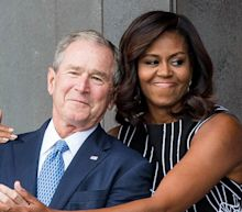 Michelle Obama on Her Bond With 'Beautiful, Funny, Kind, Sweet Man' George W. Bush