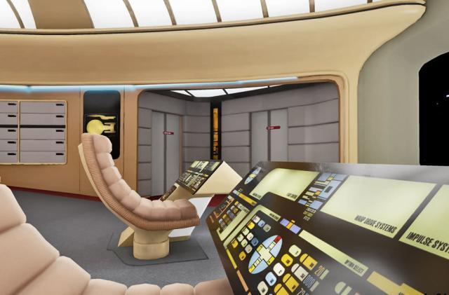 'Star Trek' virtual tour will recreate every deck of the Enterprise