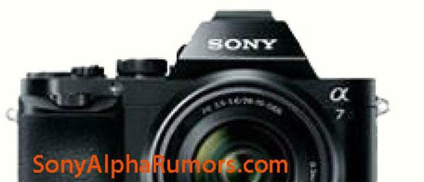 Sony A7 reportedly pictured in blurry screengrab, teases viewfinder