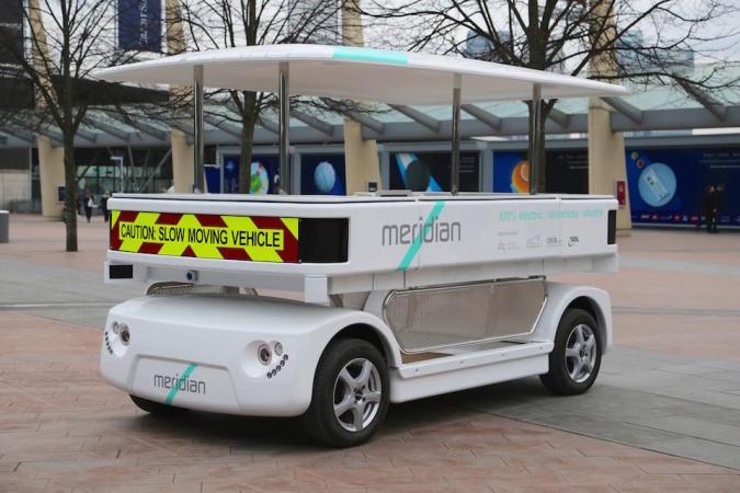 The autonomous shuttle hoping to transform public transport