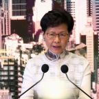 Brusque to bruised: Hong Kong's Lam caves to pressure on extradition bill