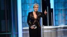 Meryl Streep takes aim for Donald Trump in blazing Golden Globes speech