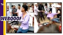 Video From Muzaffarnagar Passed off as Post-Poll Violence in WB