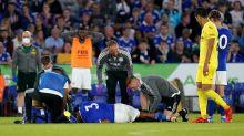 Leicester defender Wesley Fofana suffers serious-looking injury in pre-season