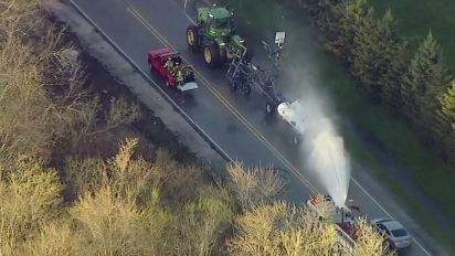 Illinois chemical spill sends dozens to hospitals