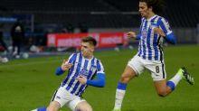 Piatek double for Hertha in Berlin derby ends Union's unbeaten run