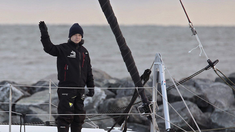 Greta Thunberg Atlantiküberquerung