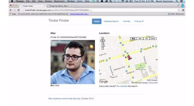 Tinder security flaw exposed users' exact locations for several months
