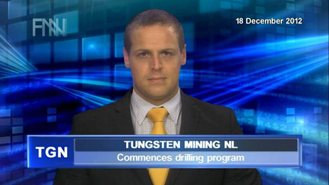Tungsten commences drilling program
