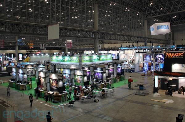 We're live from the Tokyo Game Show 2011!