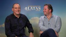 """Jean Reno estrena '4 latas', su primera película en español: """"Era muy importante para mí"""""""