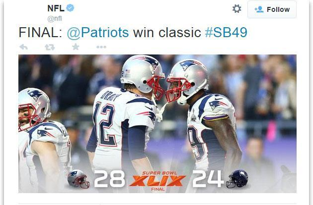 Super Bowl hits new tweet record, but Twitter still prefers soccer