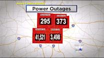 Thousands Without Power After The Storm