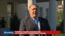 Pompeo Urges Trump to Give Saudis ' A Few More Days' on Khashoggi