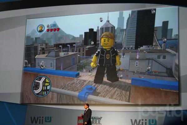 LEGO City Stories exclusive to Wii U, 3DS