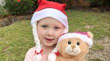 Brave Evie Weir touching hearts around Australia