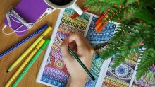 Managing mental health with adult colouring books
