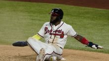 Ozuna mishap costs Braves as World Series wait continues