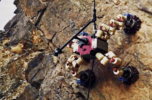 NASA's LEMUR robot escaped Death Valley in its last field test