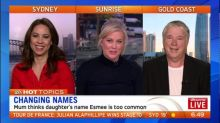 Mum considers changing daughter's name
