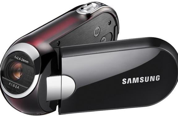 Samsung intros drop-dead gorgeous SMX-C14 and SMX-C10 camcorders