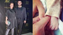 Mónica Antonópulos y Marco Antonio Caponi fueron papás: así anunciaron que nació Valentino