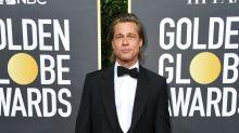 Brad Pitt's 'Titanic' Joke to Leonardo DiCaprio Wins the Internet -- See the Best Reactions!