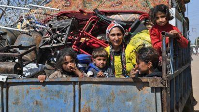 Syrien: Hunderttausende auf der Flucht