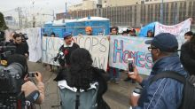'Sugar Mountain' tent city residents defy eviction notice