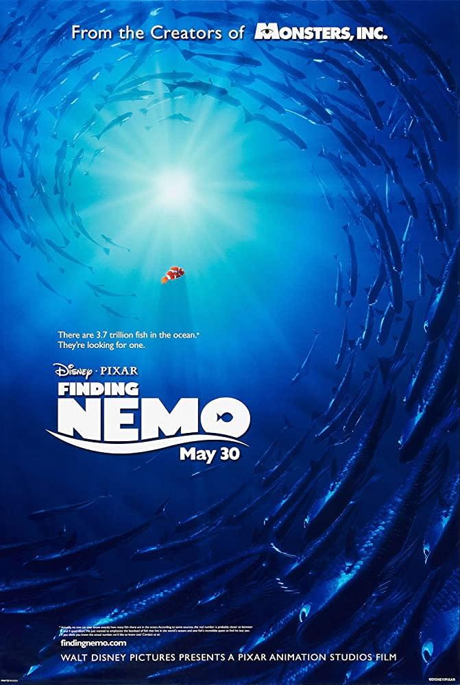 8.《海底總動員》Finding Nemo,2003