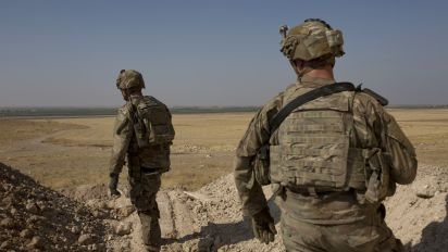 U.S. troops leaving Syria headed for western Iraq