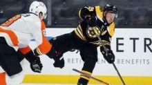 Bergeron, Marchand score 2 apiece, Bruins beat Flyers 6-1