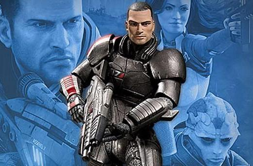 Mass Effect 2 action figures delayed, second set potentially canceled