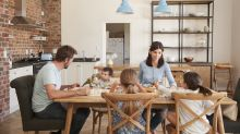 The death of the family meal? Less than a third of families sit down at the table together