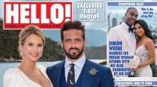 Vogue Williams reveals stunning wedding gown months after 'dreamlike' ceremony to Spencer Matthews