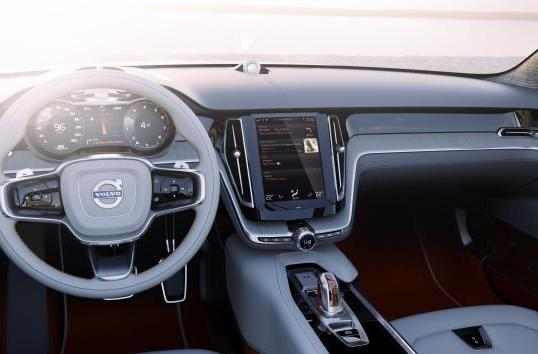 Volvo announces new 'human machine interface' and it looks a lot like a tablet (video)